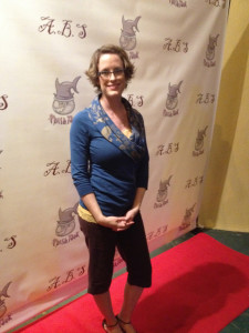 Angie Light at the premiere for ABS