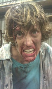 "Angie Light as a zombie in ""Nowhere Land"""