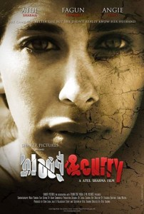 "Poster for the movie ""Blood & Curry,"" in which I play a leading role!"