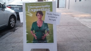 Unexpectedly Expecting, my one-woman show, runs July 11-13 and 18-20!